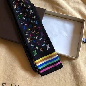 Louis Vuitton multicolore noir bandeau